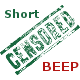 Short Censored Beep - AudioJungle Item for Sale