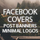 Facebook and Minimal Logos - GraphicRiver Item for Sale