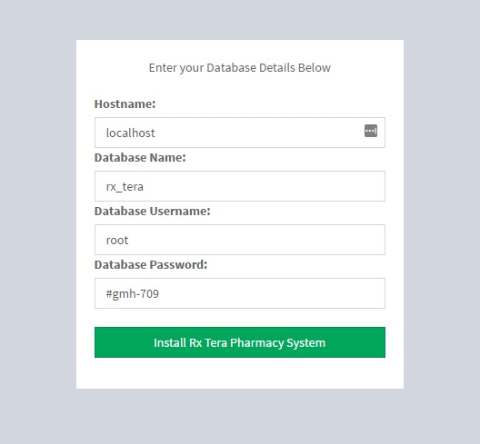 Rx Tera: Complete Pharmacy Management Application