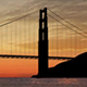 Golden Gate Bridge At Sunset - VideoHive Item for Sale