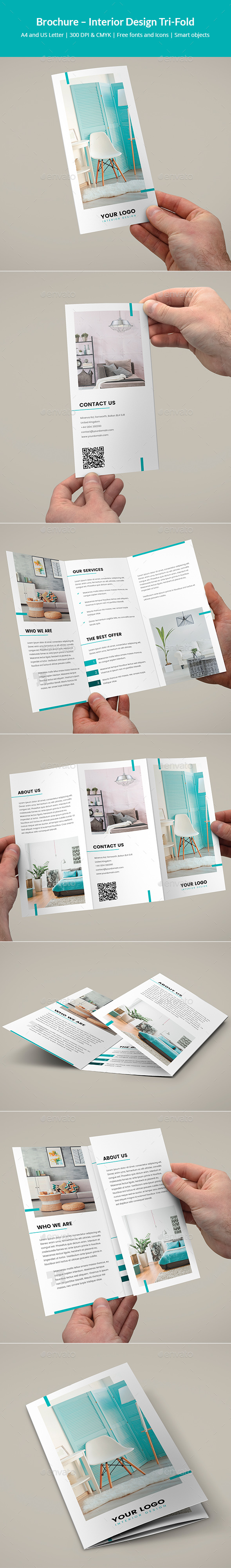 Brochure – Interior Design Tri-Fold - Corporate Brochures