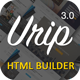 Urip - Professional Landing Page With HTML Builder Nulled