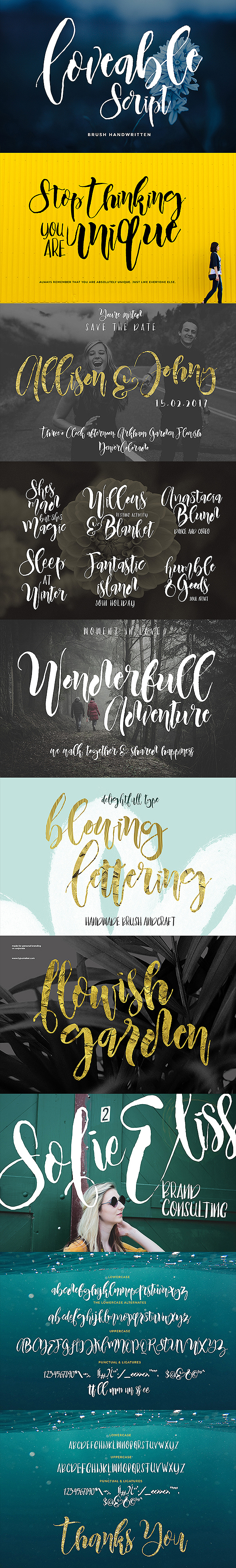 Loveable Script Font Duo - Hand-writing Script