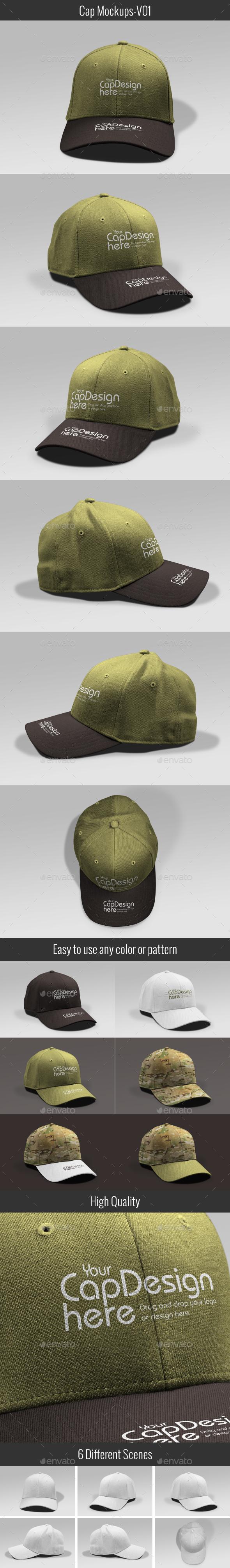 Cap Mock-up V01 - Miscellaneous Apparel
