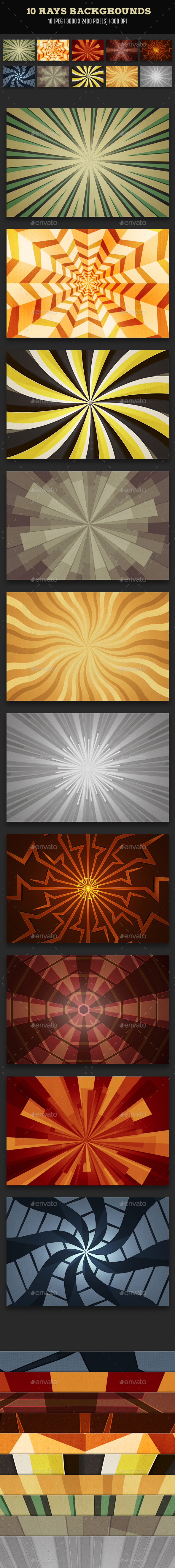 Rays Backgrounds - Backgrounds Graphics