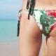 Beautiful Surfer Girl's Buttocks