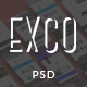 ExCo - Multi-Purpose PSD Template