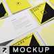 Square Card Mockup v3 - GraphicRiver Item for Sale