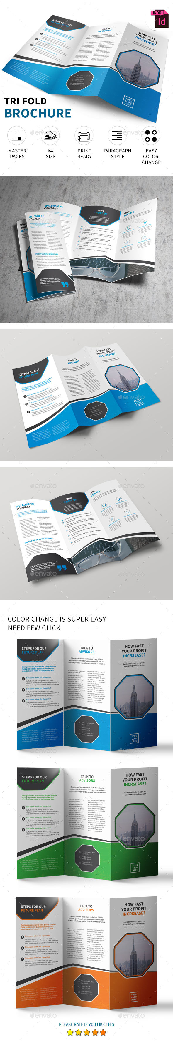 Tri-fold Brochure vol - 5.0 - Corporate Brochures