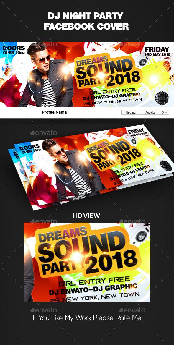 DJ Facebook Cover - Facebook Timeline Covers Social Media