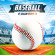 Baseball League Series Flyer vol.4 - GraphicRiver Item for Sale