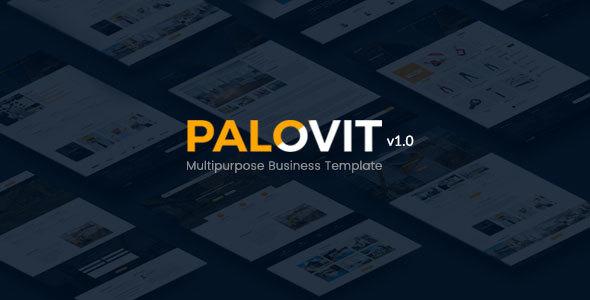 Construction Corporate HTML5 Template – Palovit