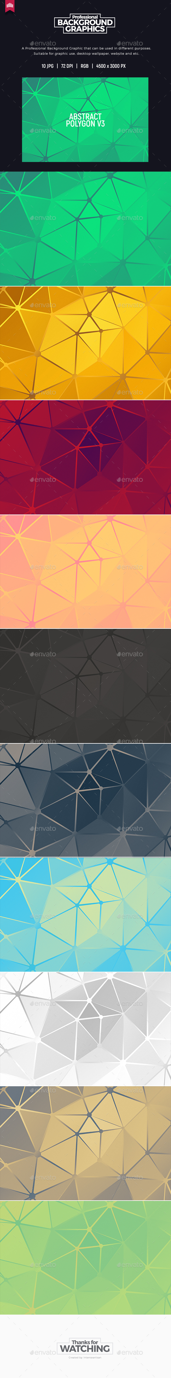 Abstract Polygon - Background - Abstract Backgrounds