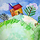 Watercolor Spring Landscape - VideoHive Item for Sale