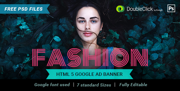 Fashion HTML 5 Banner 03 - CodeCanyon Item for Sale