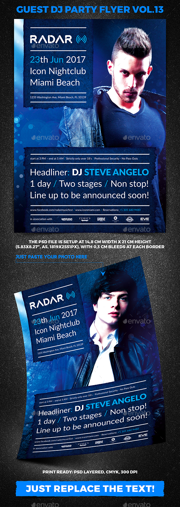 Guest DJ Party Flyer vol.13 - Clubs & Parties Events