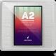 A2 Elegant Poster Frame Mock-Ups - GraphicRiver Item for Sale