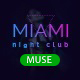 Miami - Night Club Responsive Adobe Muse Template - ThemeForest Item for Sale