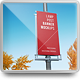 City Lamp Post Banners Mock-Ups Vol.1 - GraphicRiver Item for Sale