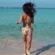 Pretty Young Woman Running in Bikini Into Sea - VideoHive Item for Sale