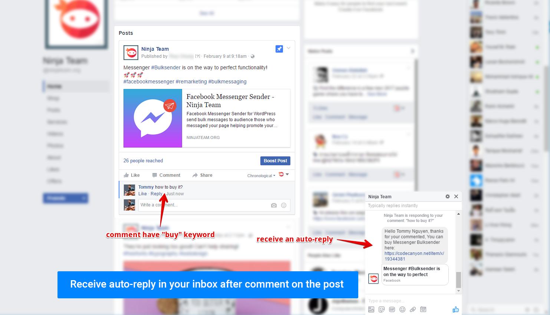 Facebook Messenger Java App