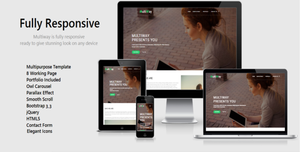 Multiway | Multipurpose HTML5 Template