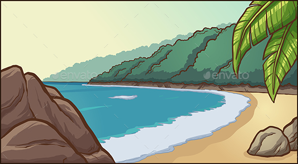 Beach Background - Landscapes Nature