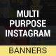 Multipurpose Instagram web Templates