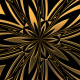 Golden Kaleido Background 5 - VideoHive Item for Sale
