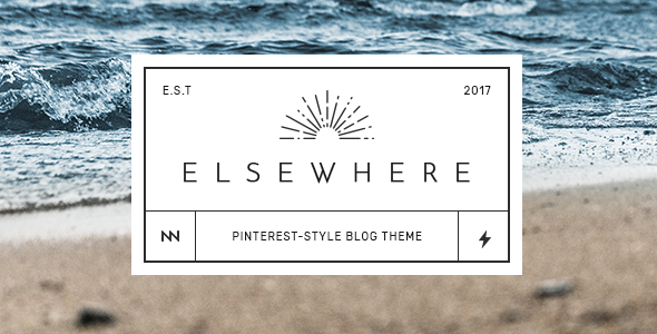Elsewhere - Stylish & Sharp WordPress Blog Theme