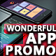 Wonderful Mobile App Promo Kit - VideoHive Item for Sale