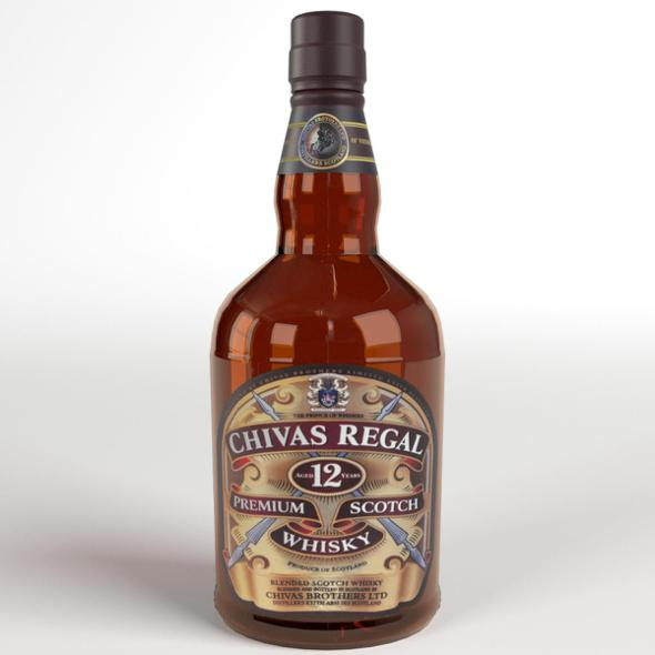 Chivas Regal Whisky - 3DOcean Item for Sale
