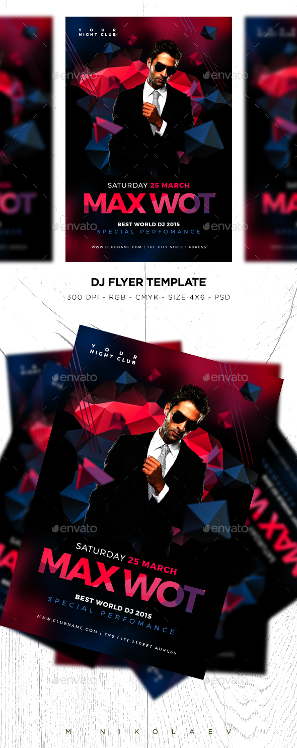DJ Flyer - Clubs & Parties Events