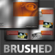 Brushed Aluminium Brochure - GraphicRiver Item for Sale