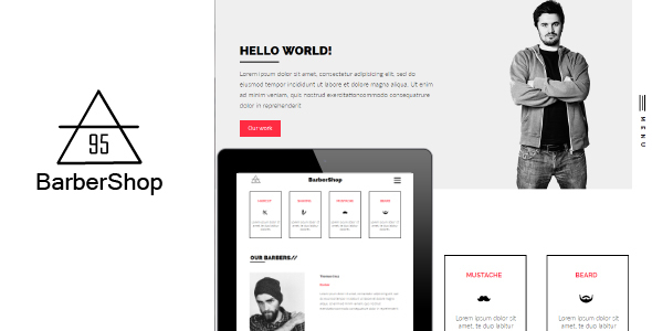 BarberShop95 - Muse Templates - Muse Templates