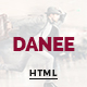 DANEE - Onepage HTML5 Template - ThemeForest Item for Sale