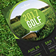 Golf Tournament Flyer 02 - GraphicRiver Item for Sale