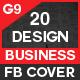 Facebook Cover Bundle Three - 20 Design - GraphicRiver Item for Sale
