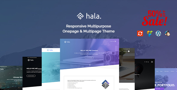 Hala – Creative Multi-Purpose WordPress Theme