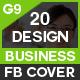 Facebook Cover Bundle Four - 20 Design - GraphicRiver Item for Sale