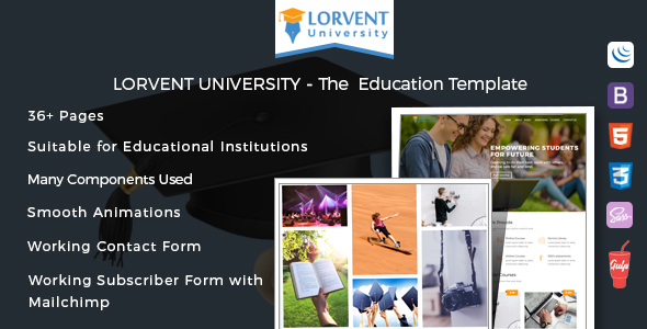 Lorvent Education Template