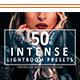 50 Intense Lightroom Presets - GraphicRiver Item for Sale