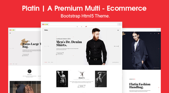 Platin | A Premium Multi - E commerce HTML5 Templates