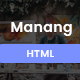 Manang - One Page Parallax Nulled