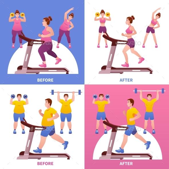 Fitness Design Concept - Sports/Activity Conceptual