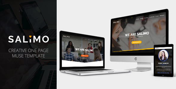 Salimo – Creative One Page Muse Template