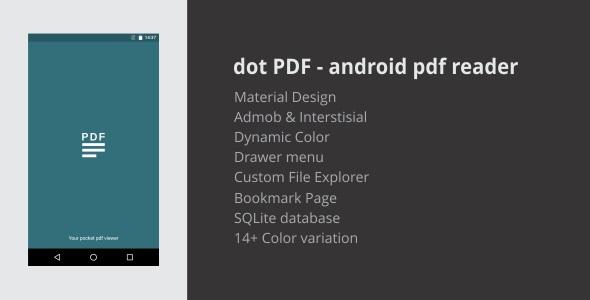 dot PDF - android pdf reader 2.0