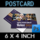 Cafe Postcard Template Vol.2 - GraphicRiver Item for Sale