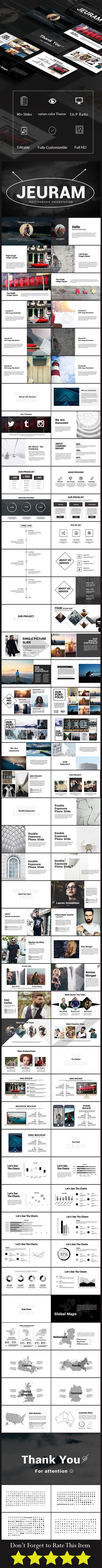 Jeuram Multipurpose Presentation - PowerPoint Templates Presentation Templates