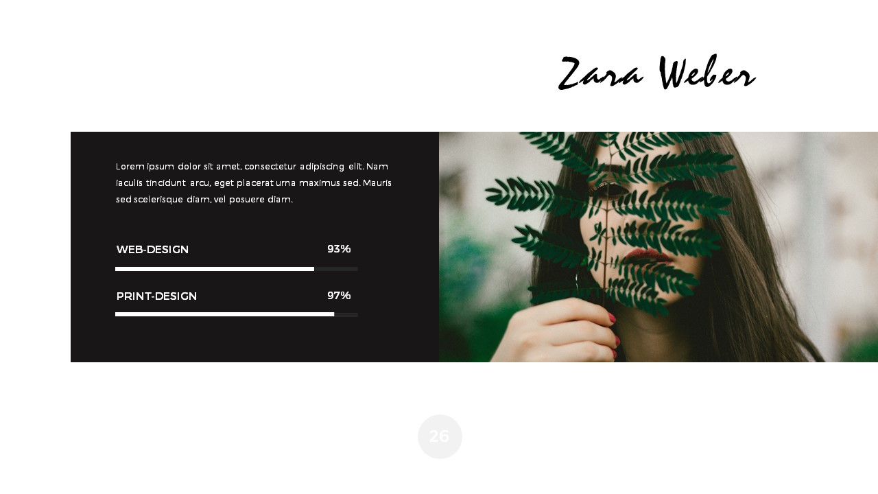 Leaves minimal powerpoint presentation by grizzlydesign graphicriver leaves minimal powerpoint presentation toneelgroepblik Image collections
